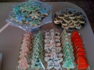 2009 xmas cookies